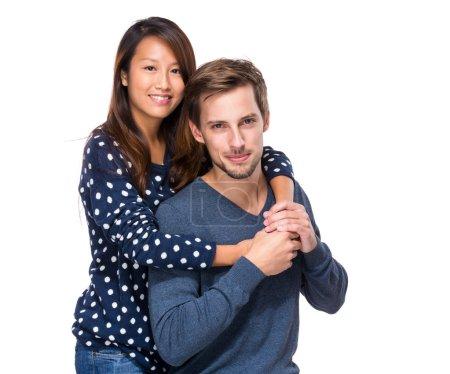 Photo pour Joyeux couple - image libre de droit