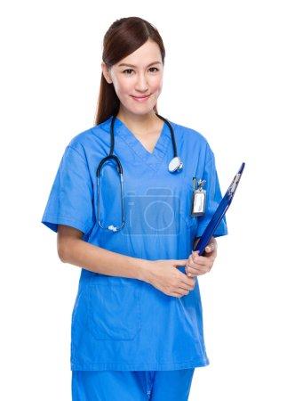 Female asian doctor