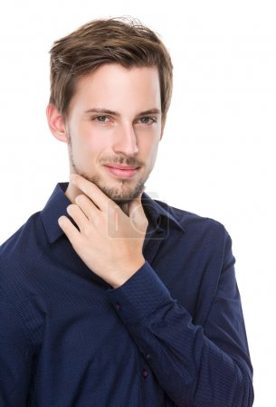 Photo for Caucasian handsome confident man - Royalty Free Image