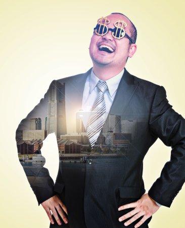 Billionaire and city
