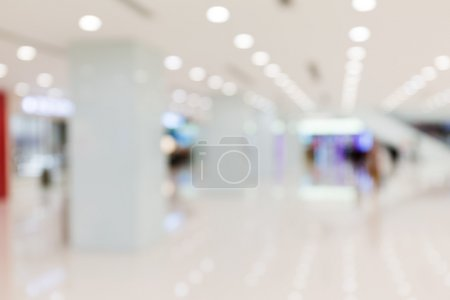 Photo for Abstract background of shopping center, shallow depth of focus - Royalty Free Image