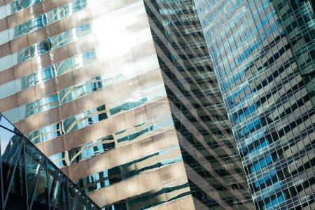 Building skyscraper facade