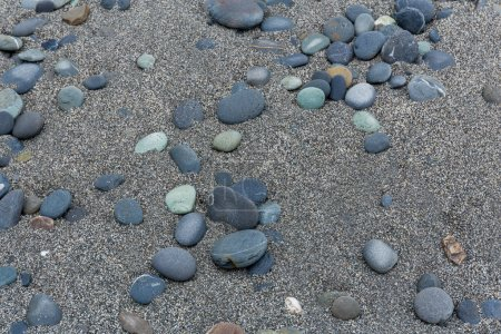 Pebbles stones on beach