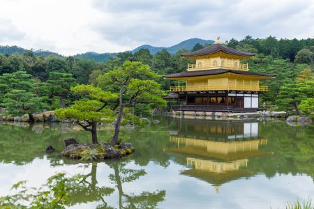 temple of the golden pavilion in