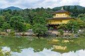 Zlatý pavilon (Kinkakuji) v Kjótu
