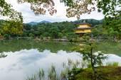 Zlatý pavilon v kinkakuji chrámu