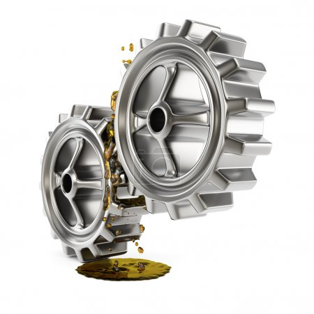 Lubricated gears