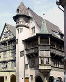 France, Colmar, medieval city in the centre of Europe.
