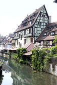 France,Colmar. Ancient houses
