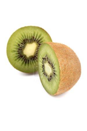 Photo for Studio shot of fresh  halved kiwi - Royalty Free Image
