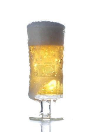 Fresh light beer