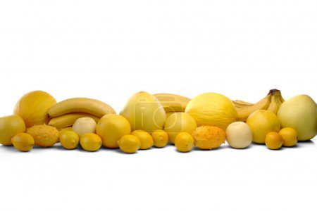Foto de Composición de cítricos sobre fondo blanco - Imagen libre de derechos