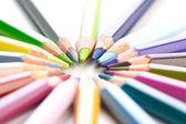 Duha barevné tužky