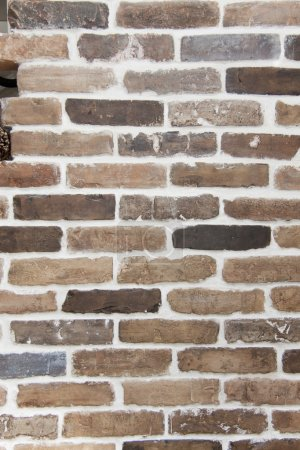 Brick wall of handwork