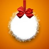 Papírové vánoční koule