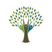 Tree by People Logo Illustration