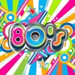 80s Party illustration logo...