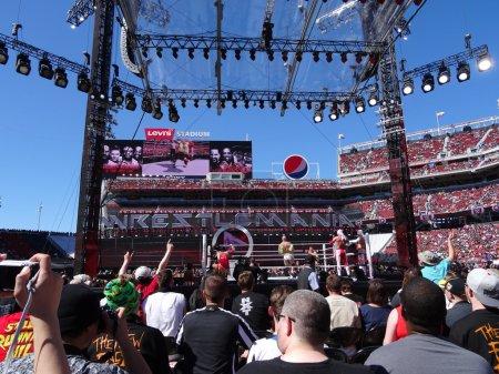 Cesaro swings wrestler in ring