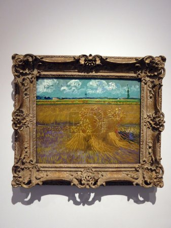 Wheat Field, 1888, Vincent Van Gogh