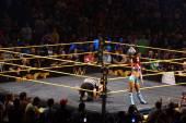 NXT ženské zápasníci sasha banky drží dámské mistrovský titul