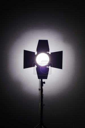 Equipment for photo studios and fashion photography. Background