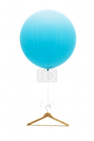 Balloon with a hanger.