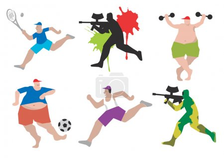Funny sports figures