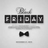 Black Friday sale illustration