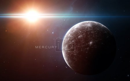 Mercury - High resolution 3D images presents plane...