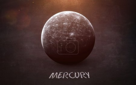 Mercury - High resolution images presents planets ...