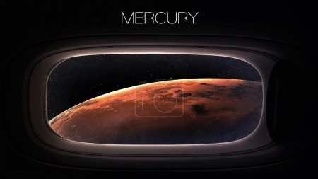 Mercury - Beauty of solar system planet in spacesh...