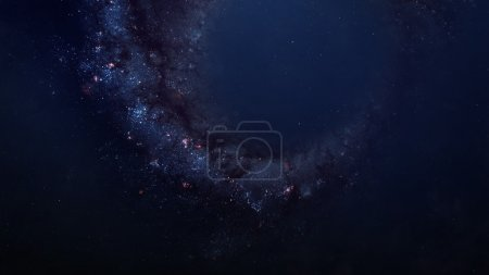 Beautiful space background. Elements of this image furnished by NASA