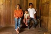 Poor Quechua Family