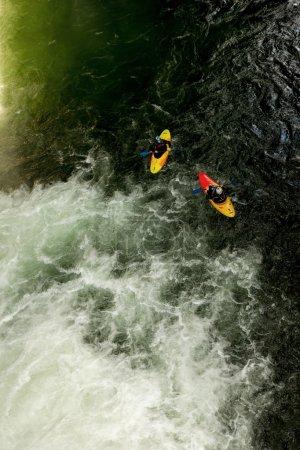 Extreme Kayaking In Ecuador