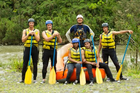 Whitewater River Rafting Team