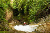 Extreme Canyoning Waterfall Descent