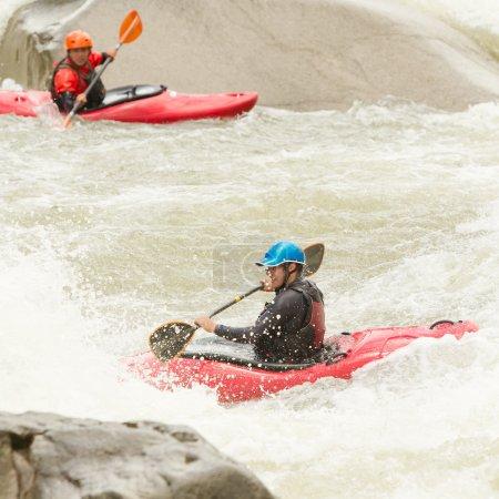 Whitewater Kayaking Fun