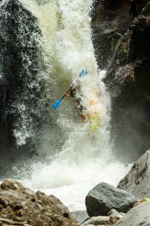 Kayak Waterfall Jump