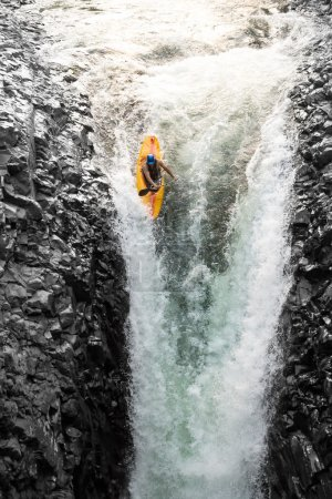 Extreme Kayaking In Ecuador
