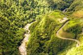 Pastaza River And Panamericana Highway Ecuador