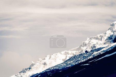 Cotopaxi Volcano Glacier