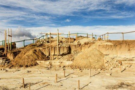 Construction Site Quilotoa Ecuador