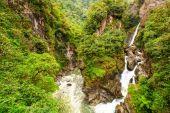Řeky Pastaza vodopád