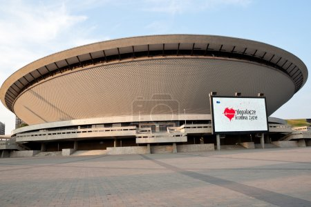 Katowice, Poland - August 13, 2015: Sports arena S...