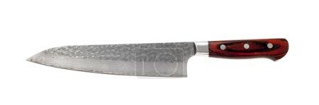 Photo for Acute knife on white background - Royalty Free Image
