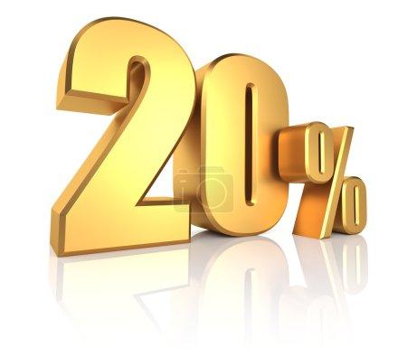 Gold 20 Percent