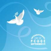 International Day of Peace background