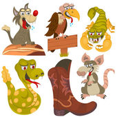 wild west animals