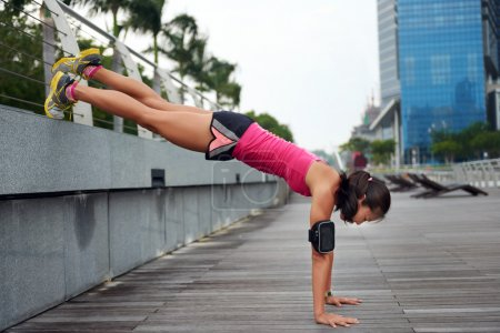 body strength woman