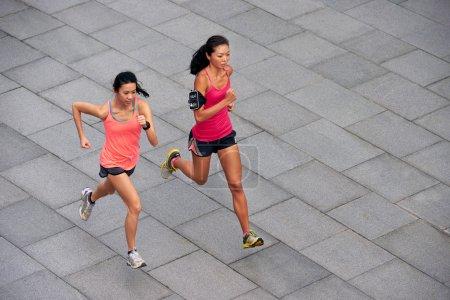 fitness women running